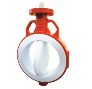 PTFE-lined Butterfly Valves